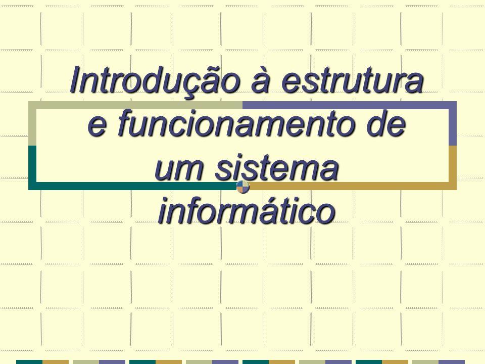 Introdução à estrutura e funcionamento de um sistema informático