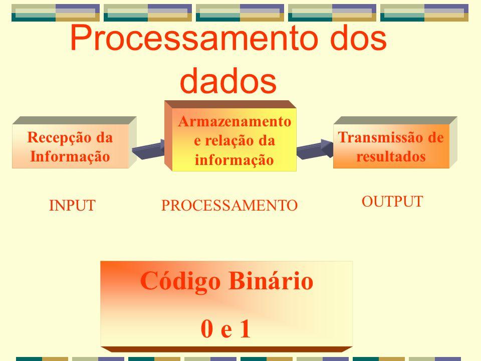 Processamento dos dados