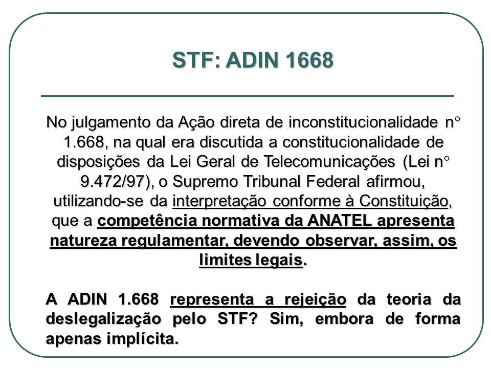 STF: ADIN 1668