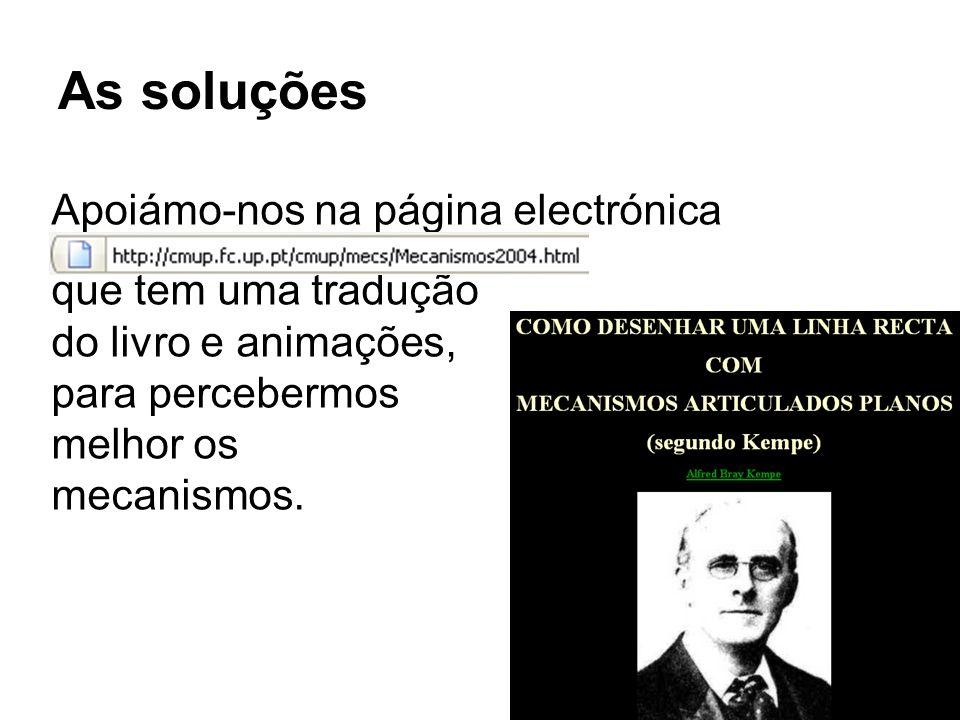 As soluções Apoiámo-nos na página electrónica que tem uma tradução