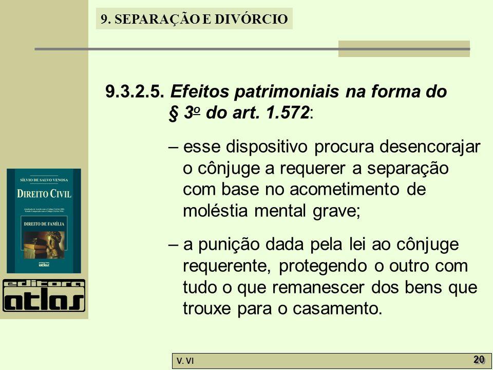 9.3.2.5. Efeitos patrimoniais na forma do
