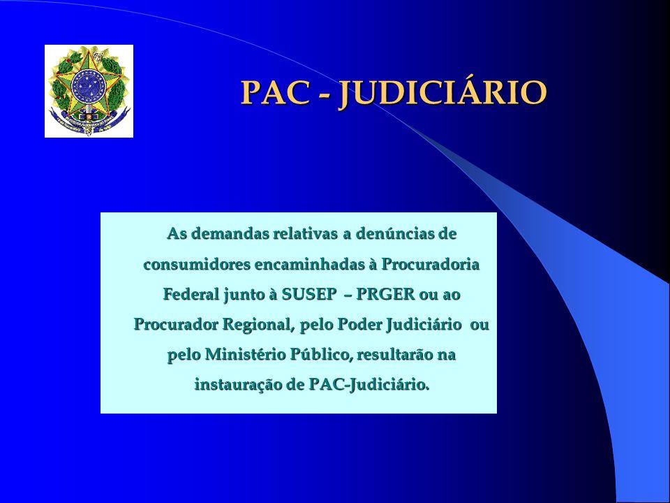 PAC - JUDICIÁRIO