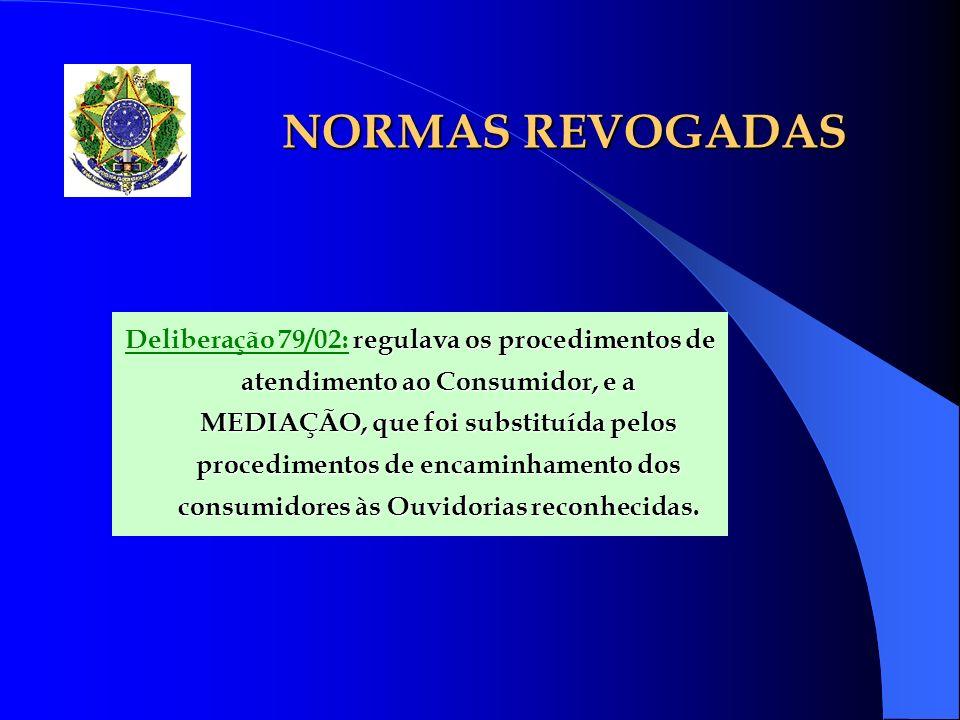 NORMAS REVOGADAS