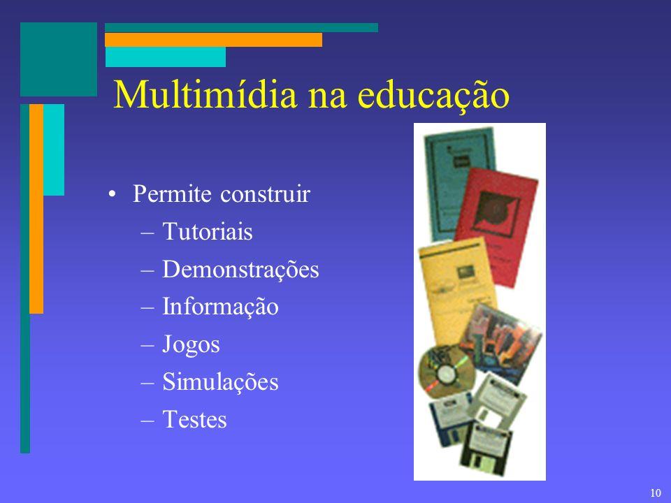 Multimídia na educação