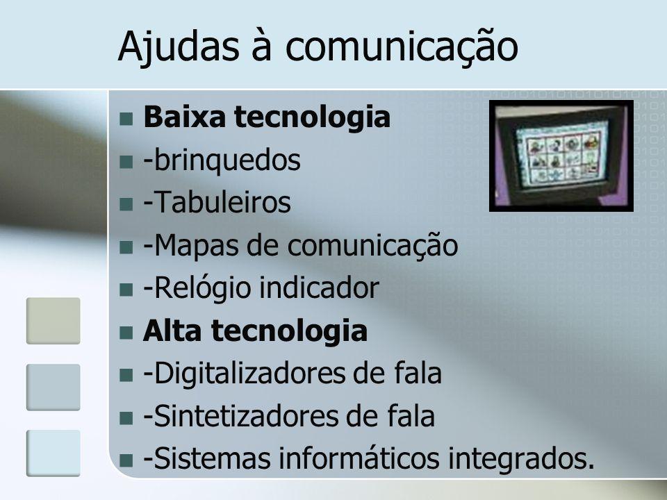 Ajudas à comunicação Baixa tecnologia -brinquedos -Tabuleiros