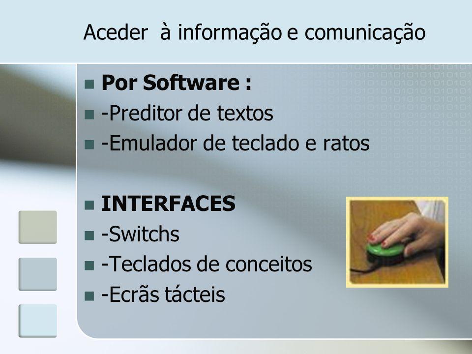 Aceder à informação e comunicação