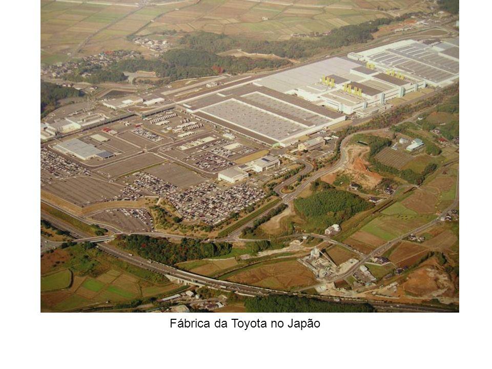 Fábrica da Toyota no Japão