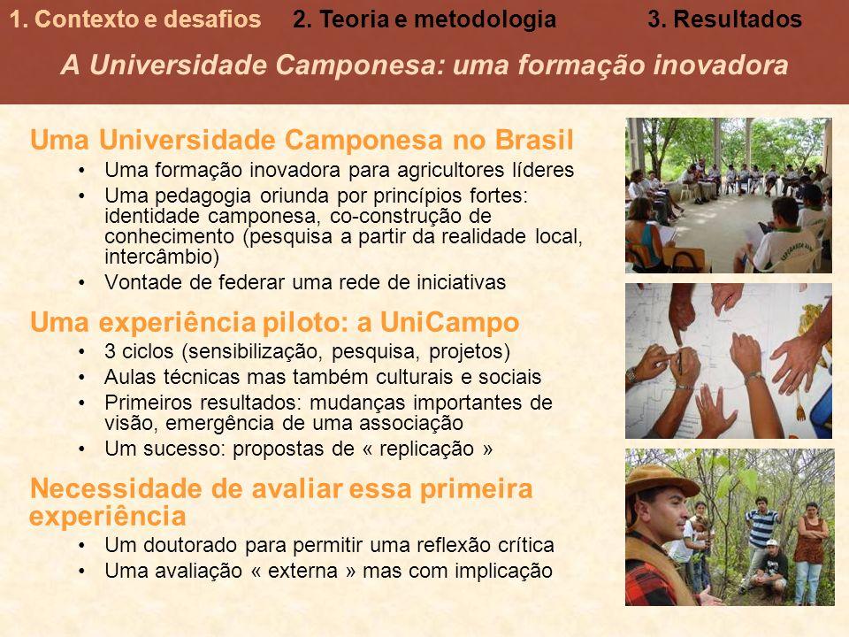 A Universidade Camponesa: uma formação inovadora