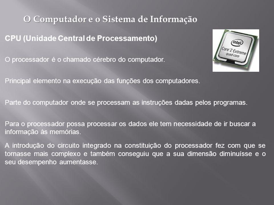 CPU (Unidade Central de Processamento)