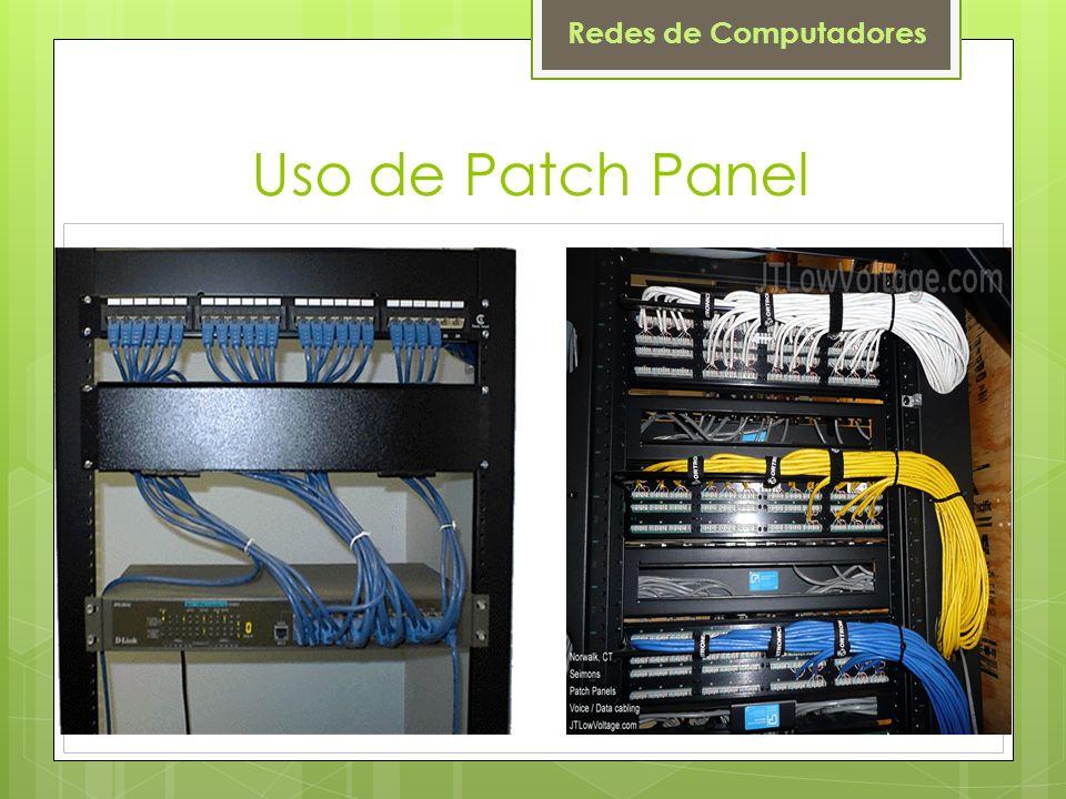 Uso de Patch Panel