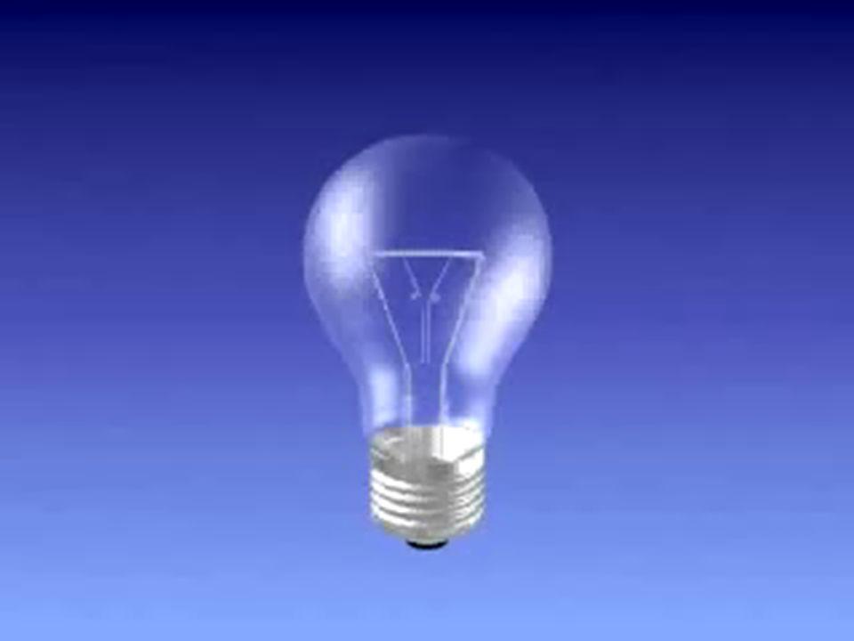Observação: Lâmpadas incandescentes