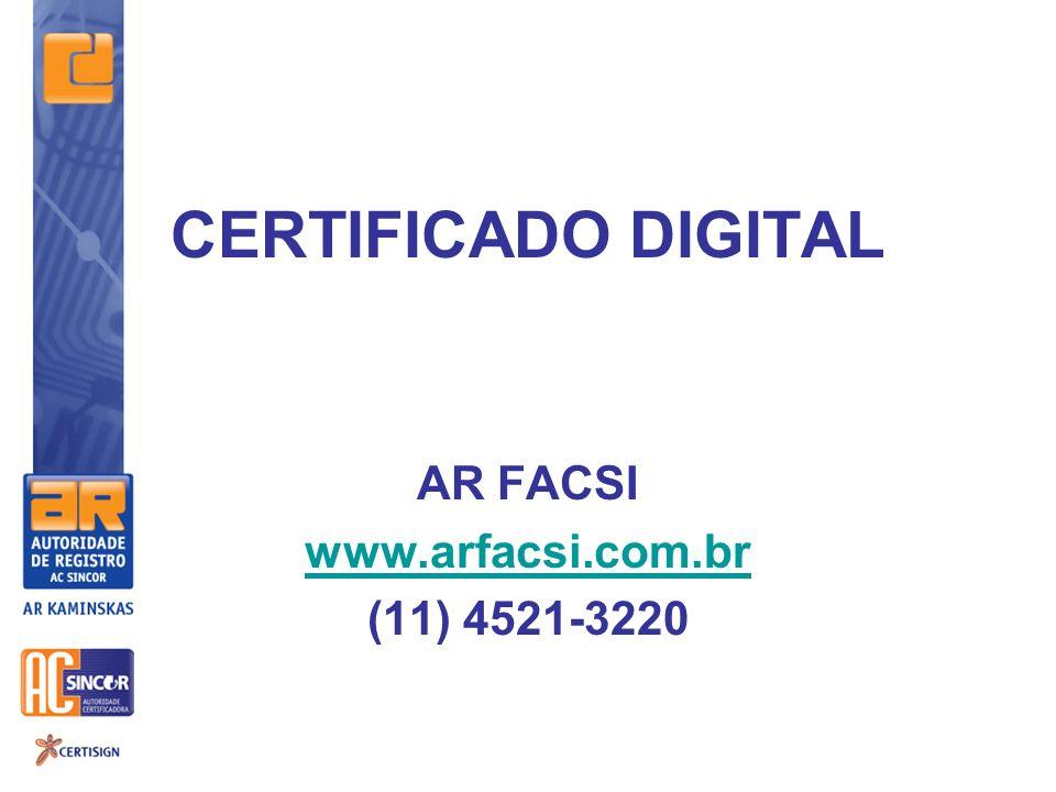 AR FACSI www.arfacsi.com.br (11) 4521-3220