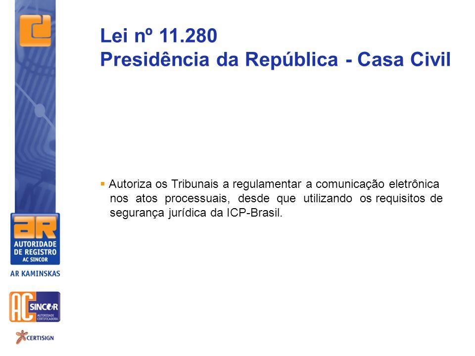 Presidência da República - Casa Civil