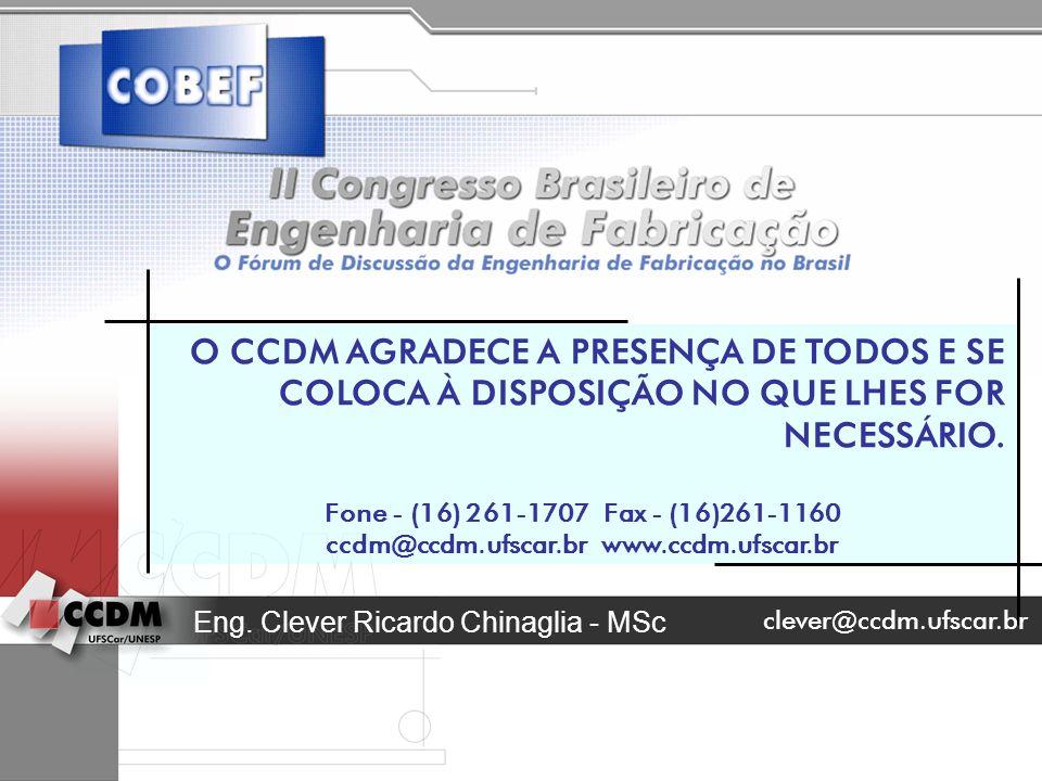 ccdm@ccdm.ufscar.br www.ccdm.ufscar.br
