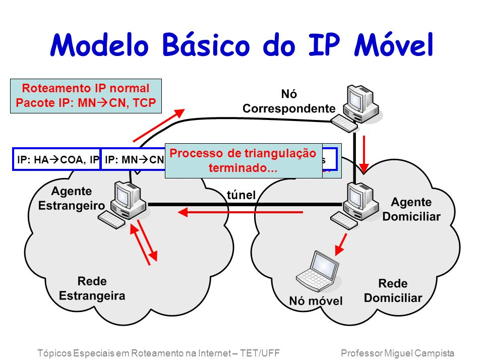 Modelo Básico do IP Móvel