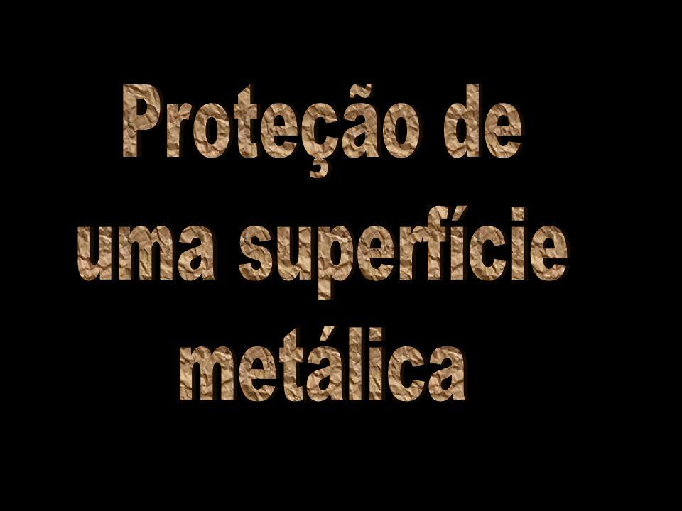 Proteção de uma superfície metálica