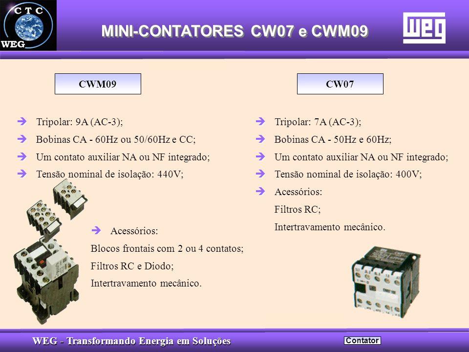 MINI-CONTATORES CW07 e CWM09