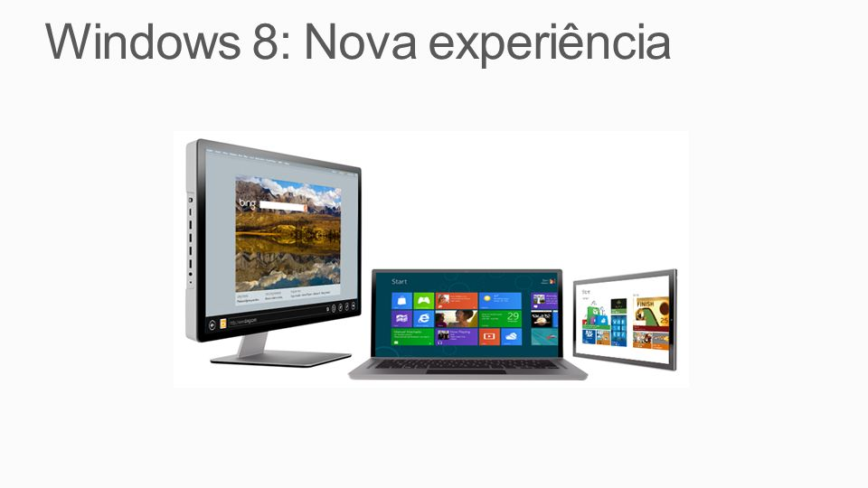 Windows 8: Nova experiência