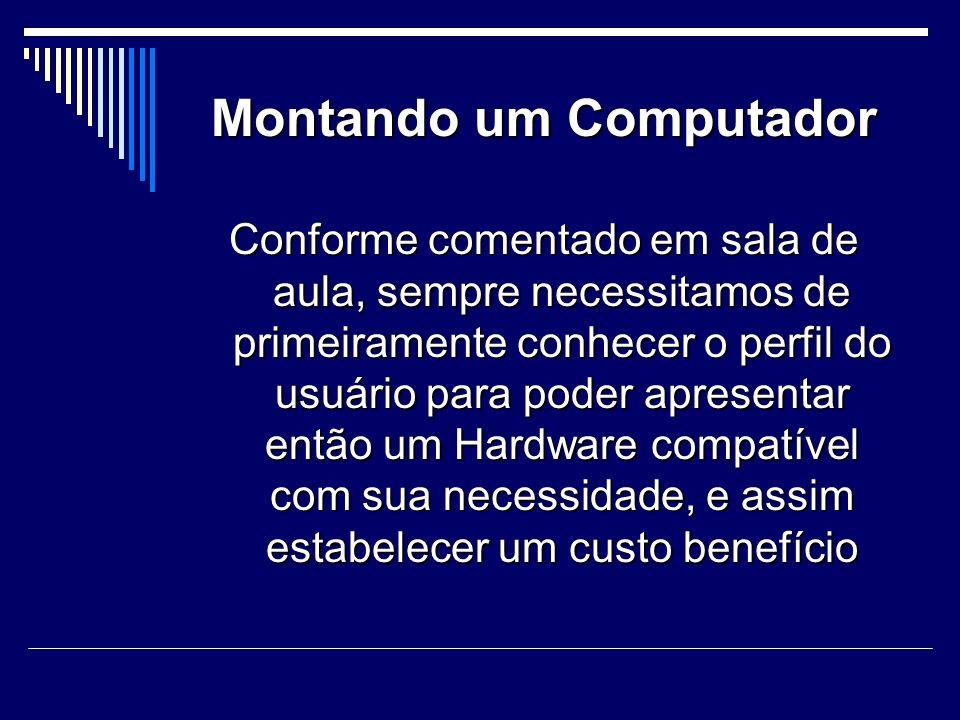 Montando um Computador