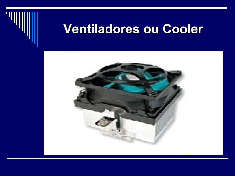 Ventiladores ou Cooler