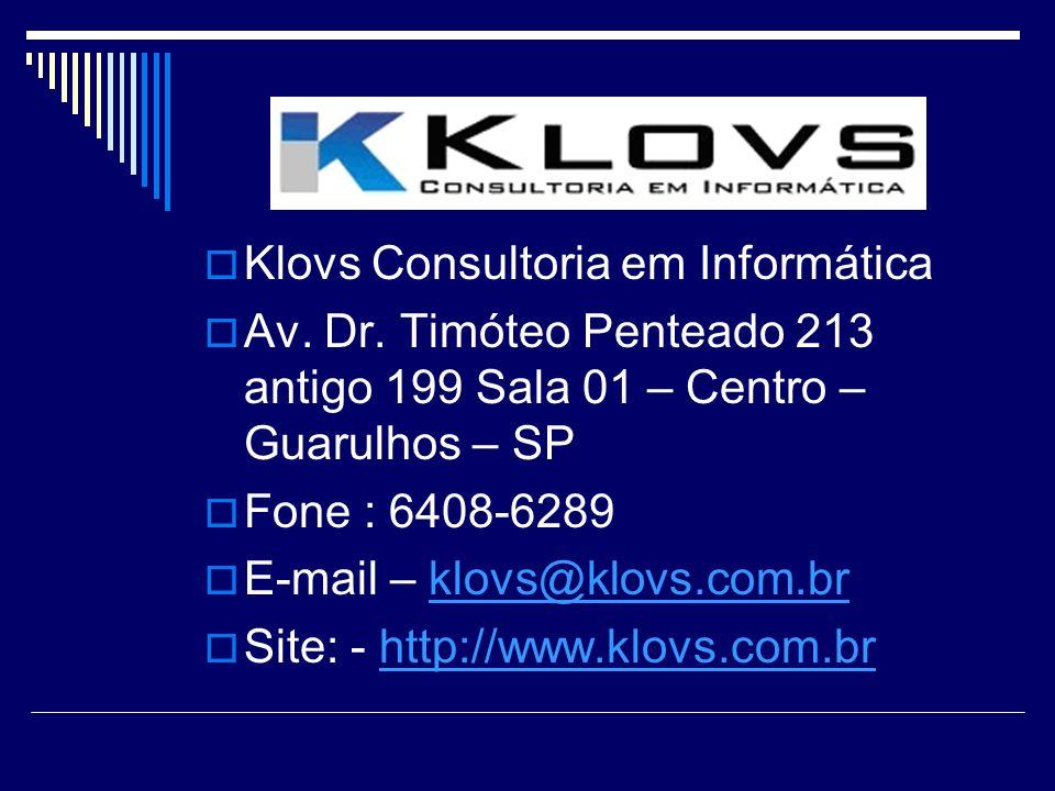 Klovs Consultoria em Informática