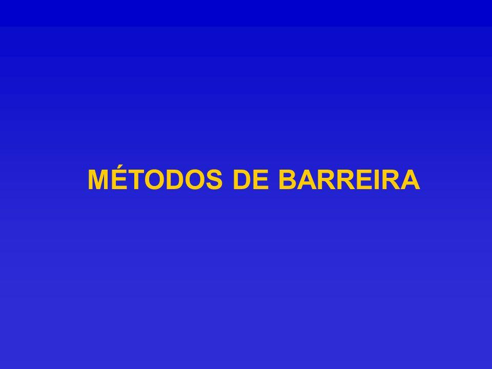 MÉTODOS DE BARREIRA