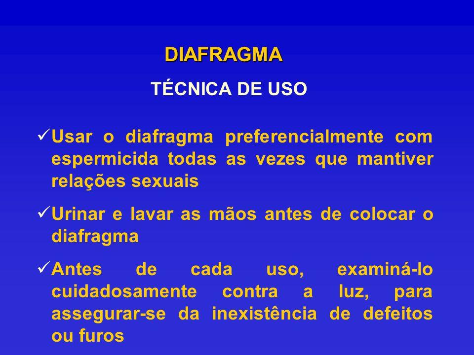 DIAFRAGMA TÉCNICA DE USO