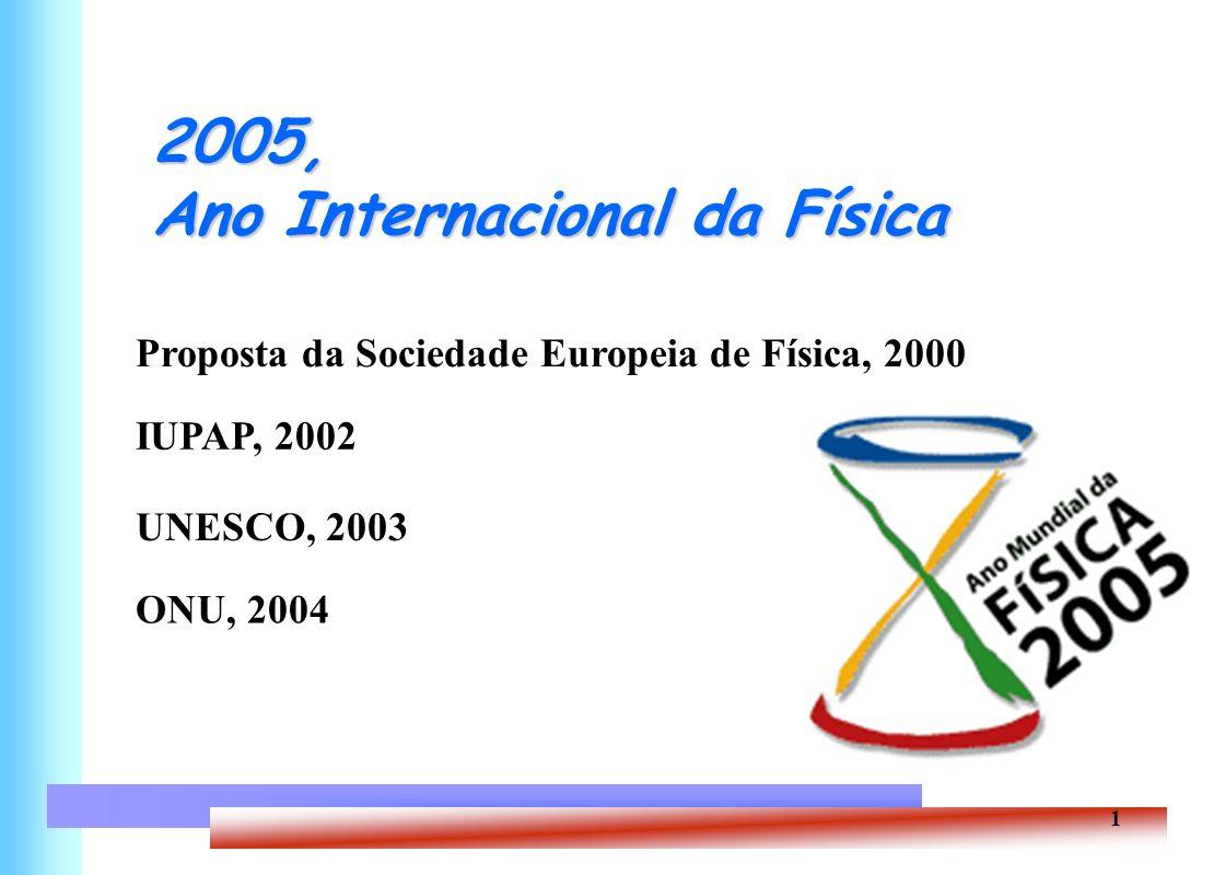 2005, Ano Internacional da Física