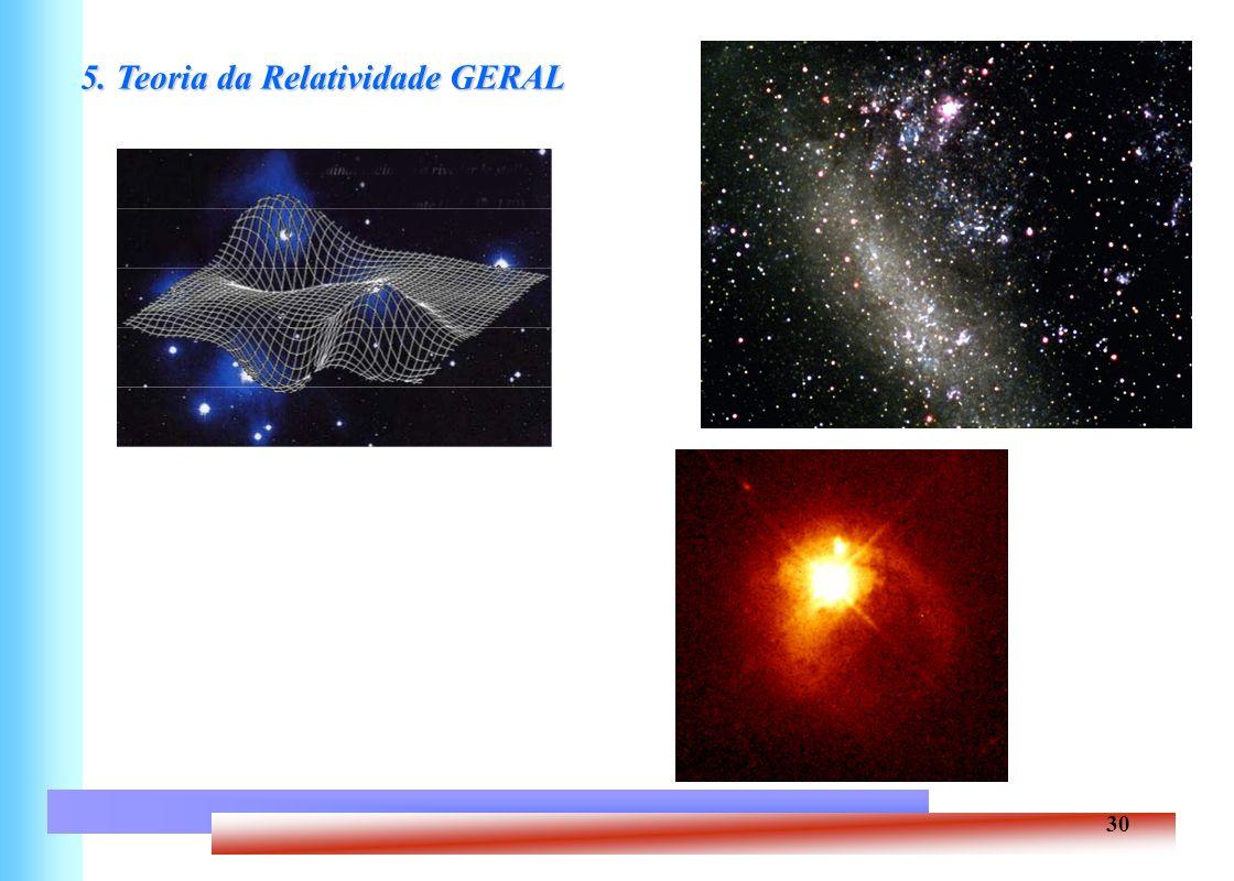 5. Teoria da Relatividade GERAL