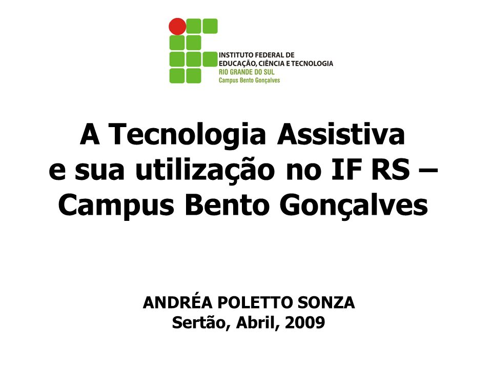 ANDRÉA POLETTO SONZA Sertão, Abril, 2009