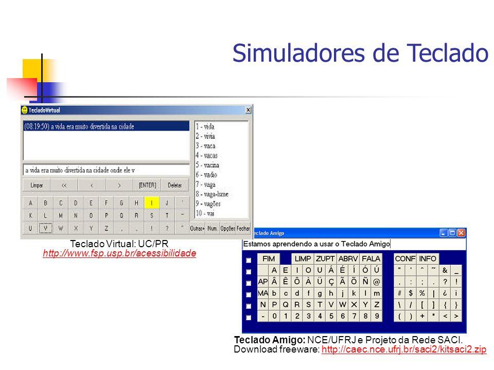 Teclado Virtual: UC/PR