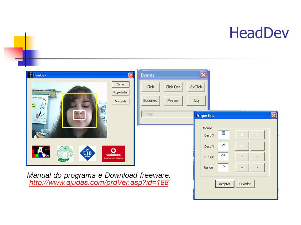 HeadDev Manual do programa e Download freeware: http://www.ajudas.com/prdVer.asp id=188