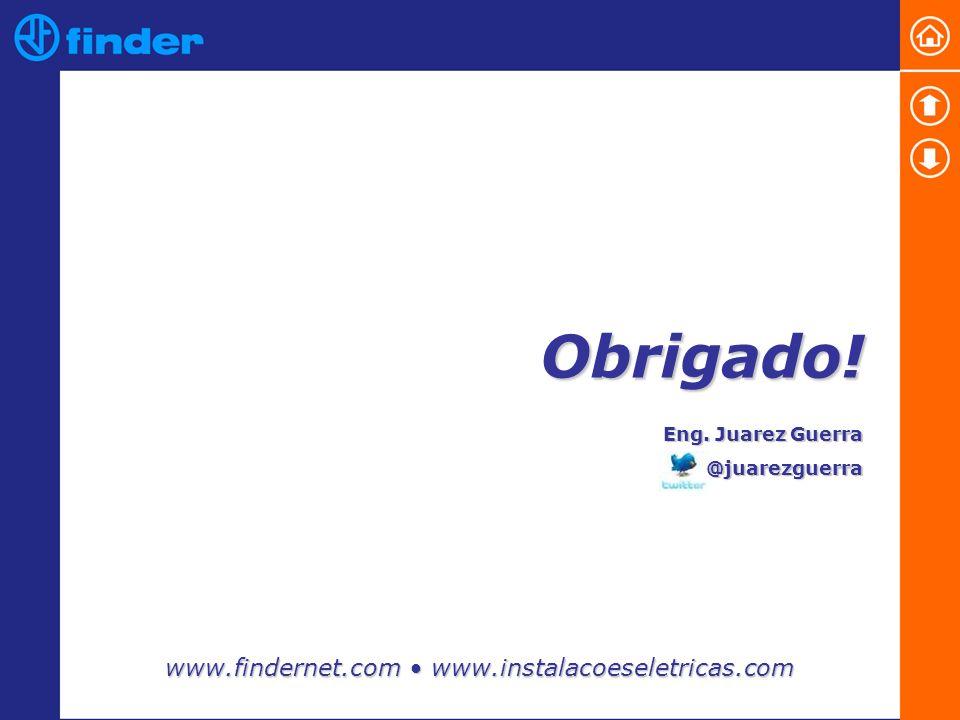 Obrigado! www.findernet.com • www.instalacoeseletricas.com