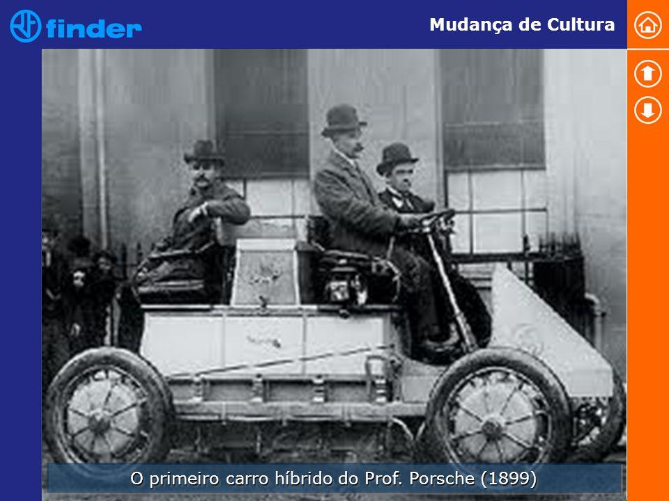 O primeiro carro híbrido do Prof. Porsche (1899)