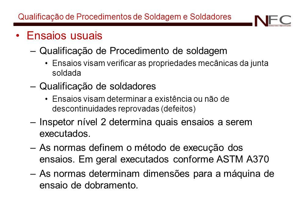 Qualificação de Procedimentos de Soldagem e Soldadores