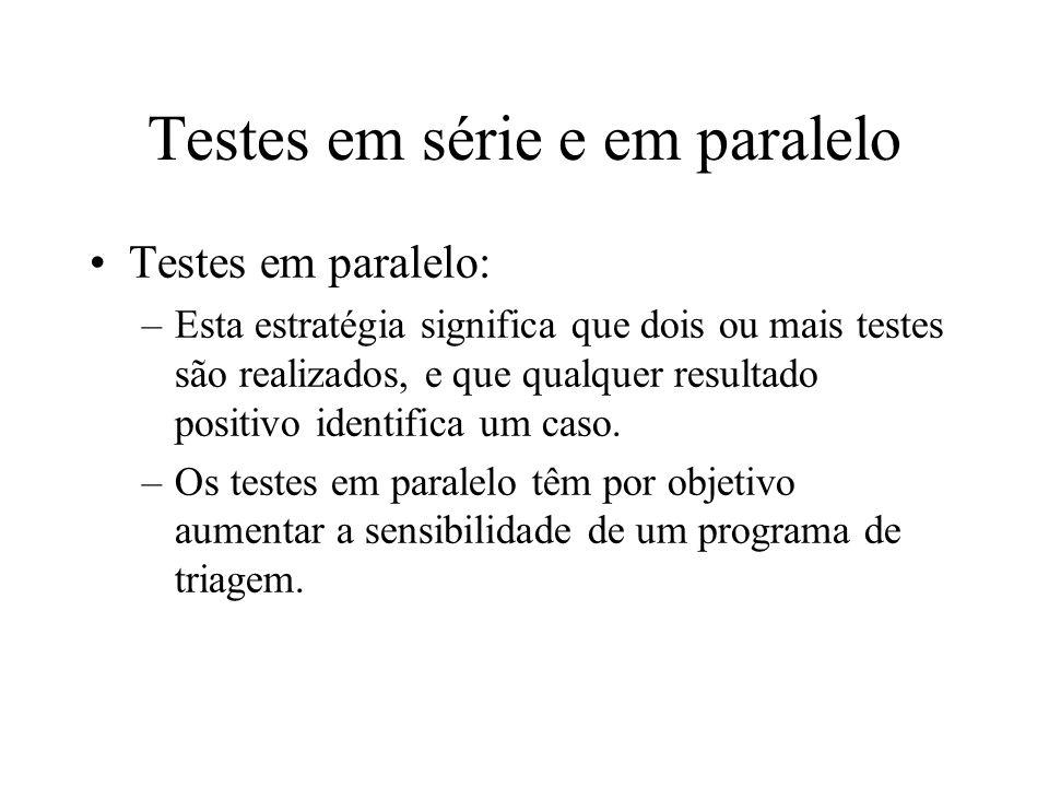 Testes em série e em paralelo