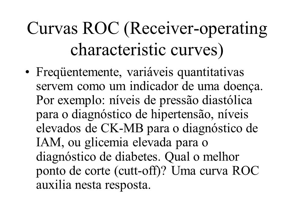 Curvas ROC (Receiver-operating characteristic curves)