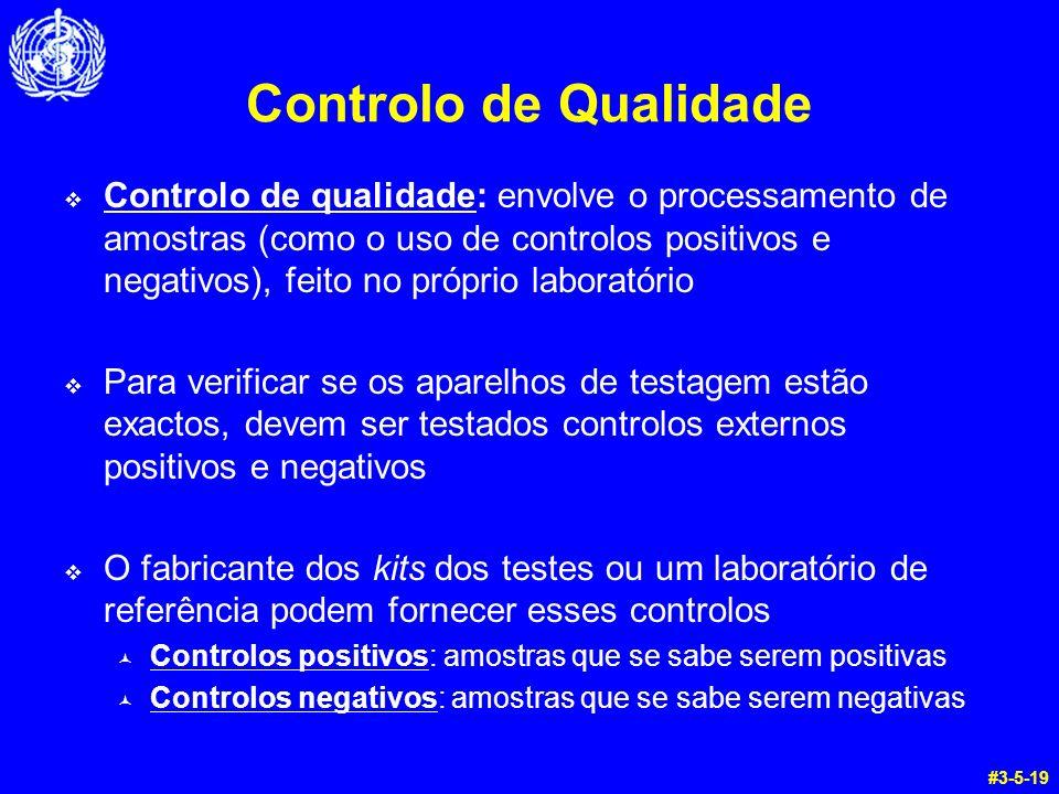 Controlo de Qualidade