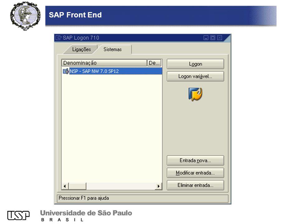 SAP Front End