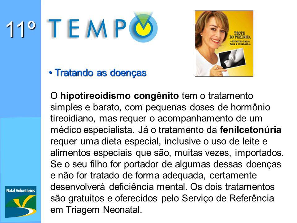 11º Tratando as doenças.