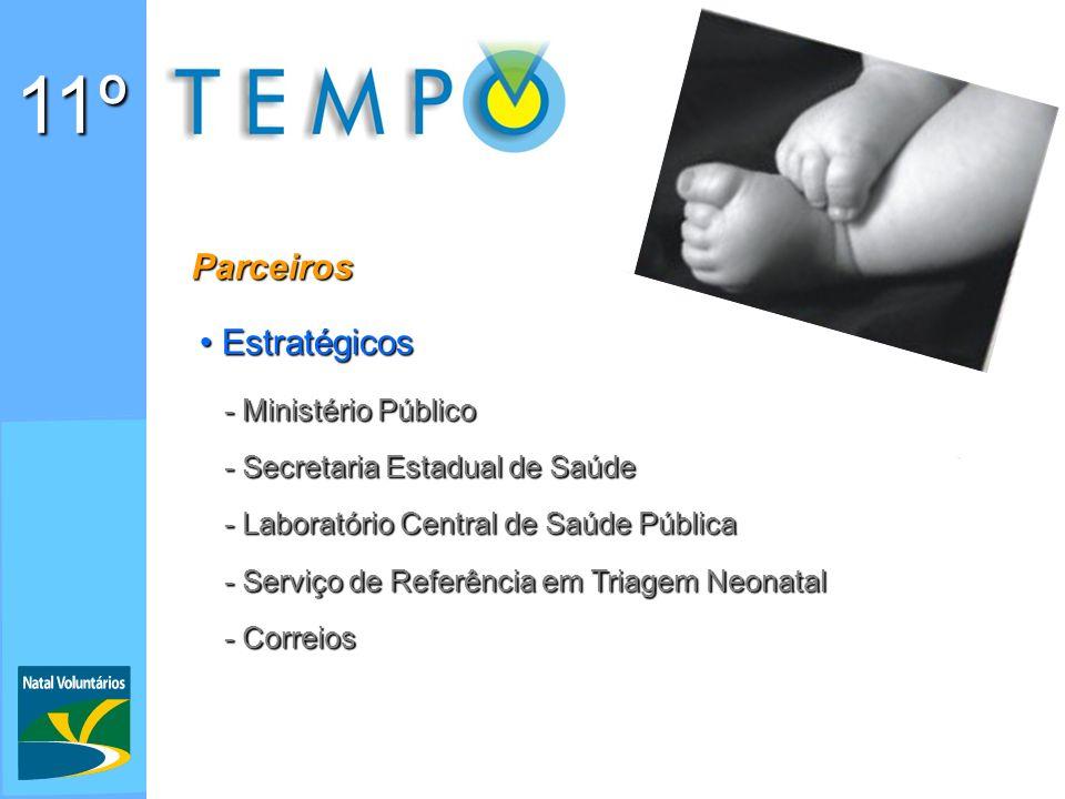 11º Parceiros Estratégicos - Ministério Público