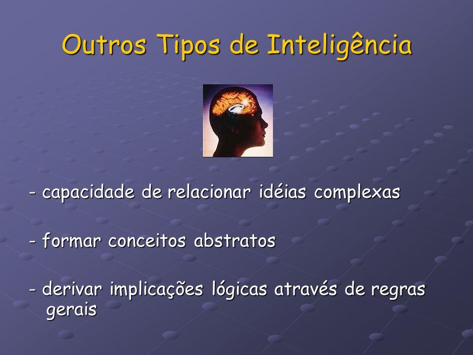 Outros Tipos de Inteligência