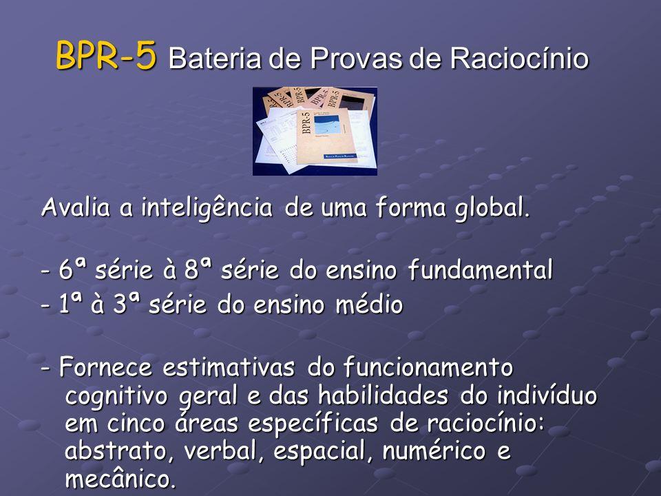 BPR-5 Bateria de Provas de Raciocínio