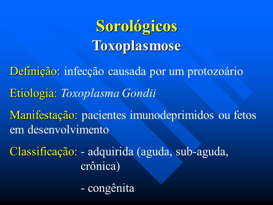 Sorológicos Toxoplasmose