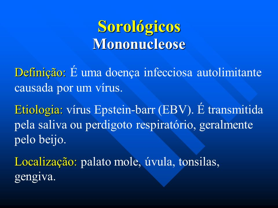 Sorológicos Mononucleose