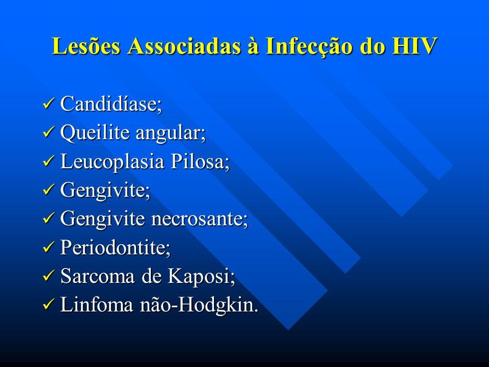 Lesões Associadas à Infecção do HIV