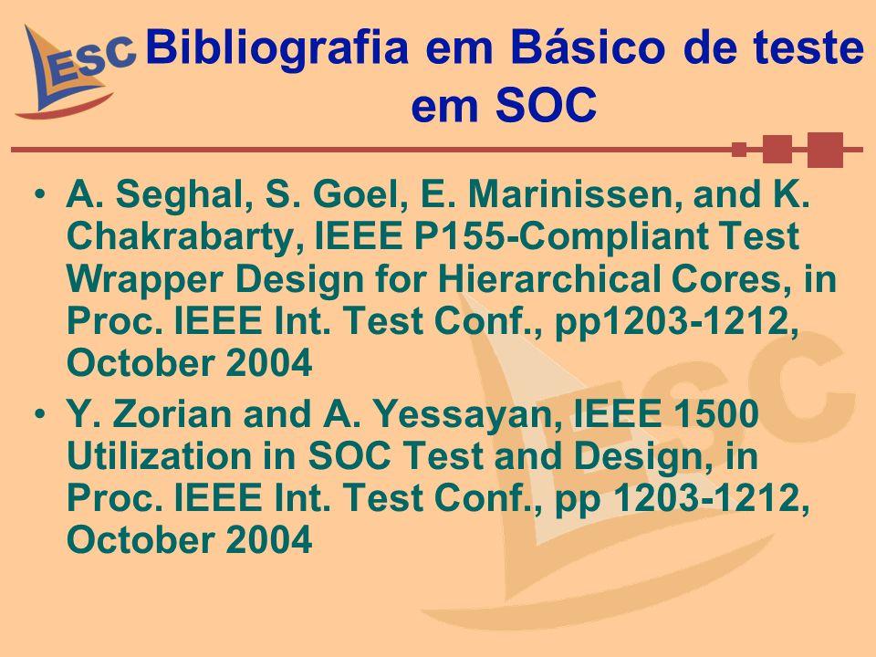 Bibliografia em Básico de teste em SOC
