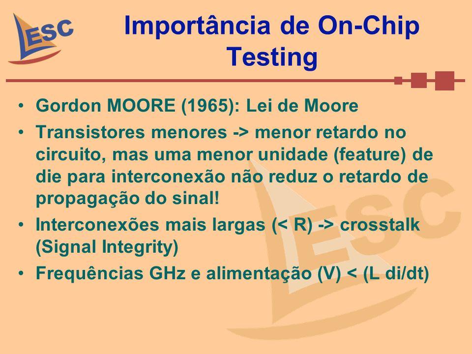Importância de On-Chip Testing