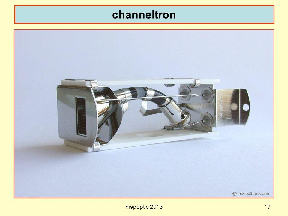 channeltron dispoptic 2013