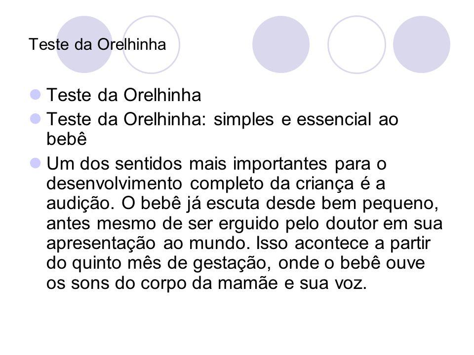 Teste da Orelhinha: simples e essencial ao bebê
